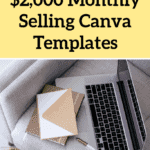 How I Make $2,000+ Monthly Selling Canva Templates