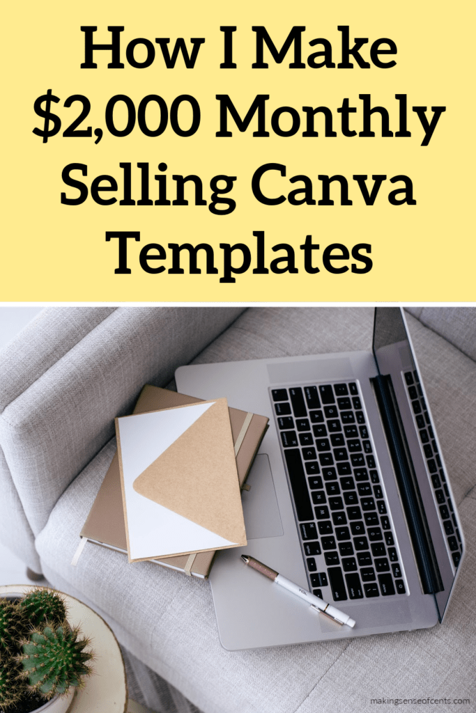 how to sell Canva templates