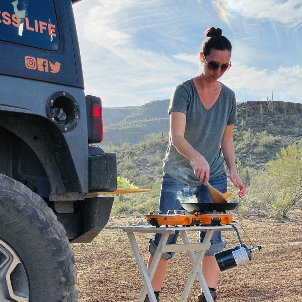 overland cooking