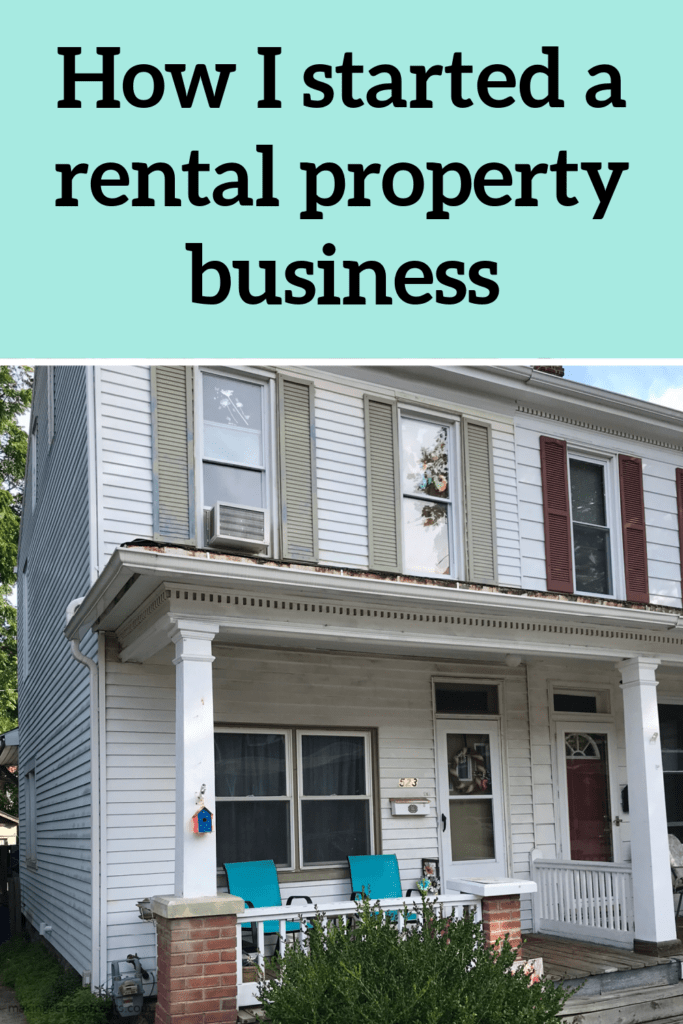 how to start a rental property business