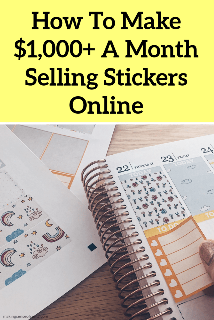 how to sell stickers online