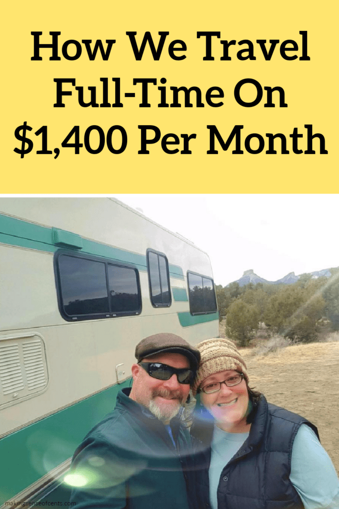 How We Travel Full-Time On $1,400 Per Month
